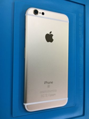 Carcaça Chassi Iphone 6s Dourada Original Apple !