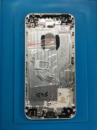 Carcaça Chassi Iphone 6 Prata Impecavel !!!