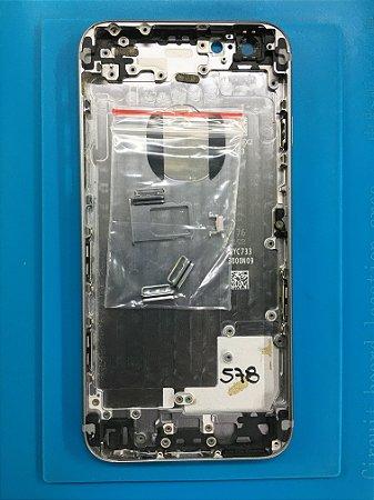 Carcaça Chassi Iphone 6 Cinza Espacial Original
