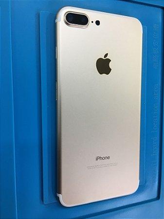 Carcaça Chassi Iphone 7 Plus Dourado Original Retirado!!