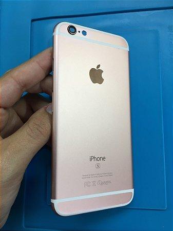 Carcaça Chassi Iphone 6s Rose Original Apple Impecável