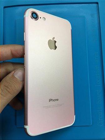 Carcaça Chassi Iphone 7 Rose Original