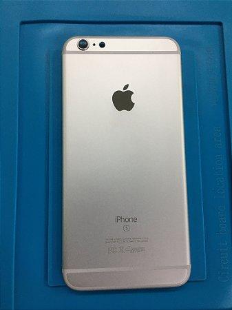 Carcaça Chassi Iphone 6s Plus Prata Original Apple impecável!!!