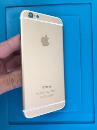 Carcaça Chassi Iphone 6 Dourado Original Apple !!