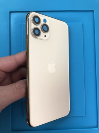 Carcaça Chassi Iphone 11 Pro Dourada Original Apple Zerada!!