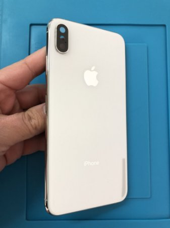 Carcaça Iphone XS Max Branco Chassi