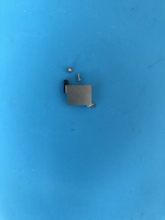 Blindagem da Câmera Traseira Iphone 8  + Parafusos