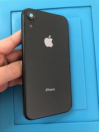 Carcaça Iphone XR PRETO Chassi Original Apple!!
