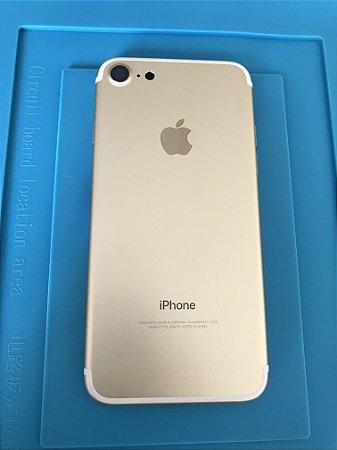 Carcaça Chassi Iphone 7 Dourado Original Apple Impecável