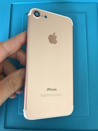 Carcaça Chassi Iphone 7 Rose Original Apple impecável