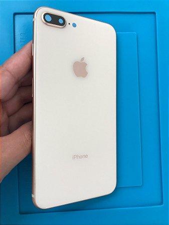 Carcaça Chassi Iphone 8 Plus Rose Gold Original Apple