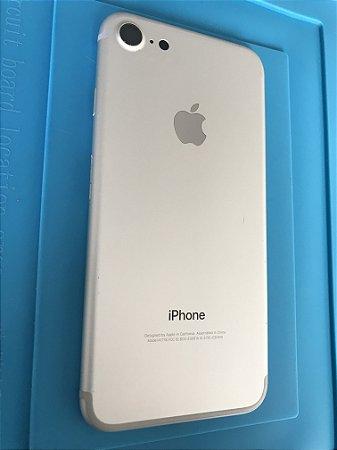 Carcaça Chassi Iphone 7 Prata Original Apple