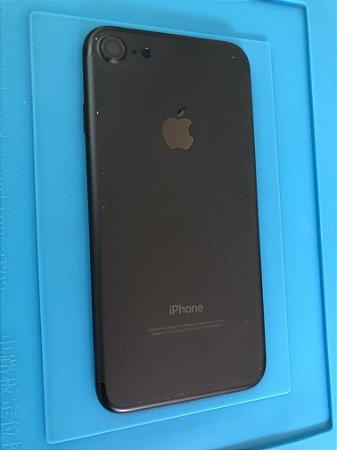 Carcaça Chassi Iphone 7  Preta Fosco marcas