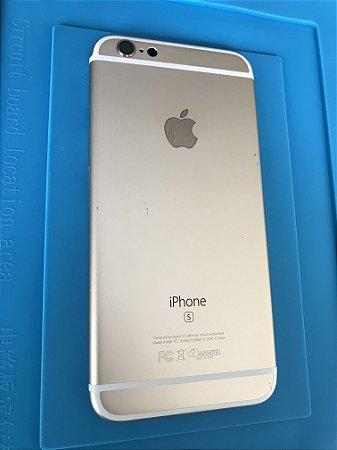 Carcaça Chassi Iphone 6s  Dourada Original Apple Detalhes