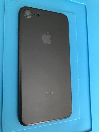 Carcaça Chassi Iphone 7 Preta Original Apple.