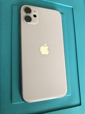 Carcaça Chassi Iphone 11 Lilas Original Apple