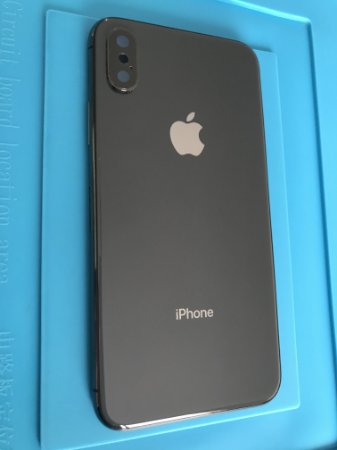Carcaça Iphone X Preta Original Apple Chassi Impecável  !!!