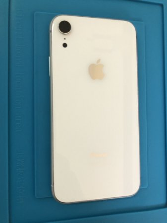 Carcaça Iphone XR Branco Chassi Original Apple Retirado