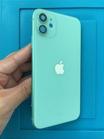 Carcaça Chassi Iphone 11 Verde Original Apple Zerada!!
