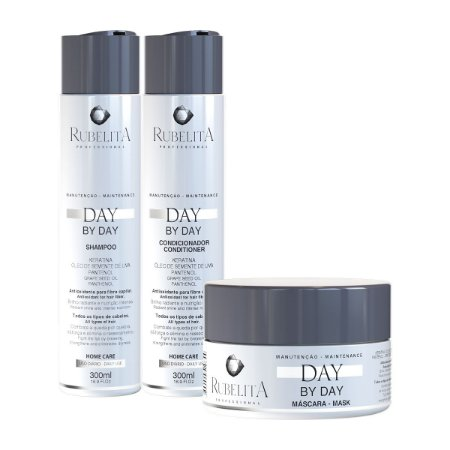 Kit Day by Day Nutrição Capilar Rubelita Professional