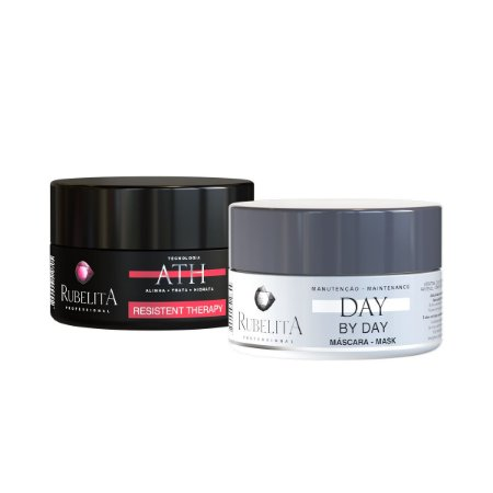 Kit Máscara Resistent Therapy 250g + Máscara Day by Day 250g - Rubelita