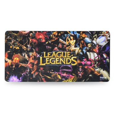 MOUSE PAD GAMER LEAGUE OF LEGENDES 65x32cm INOVE