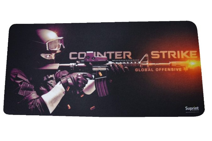 MOUSE PAD GAMER COUNTER STRIKE 65x32CM  INOVE