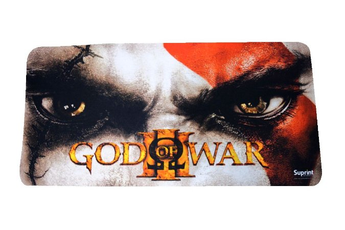 MOUSE PAD GAMER GOD OF WAR 65x32cm INOVE