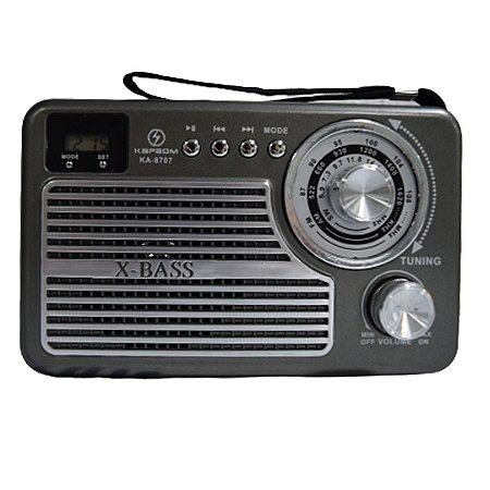 RÁDIO AM/FM KAPBOM KA8707