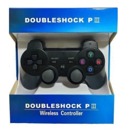 CONTROLE DOUBLESHOCK PIII PARA PS3 WIRELESS CONTROLLER