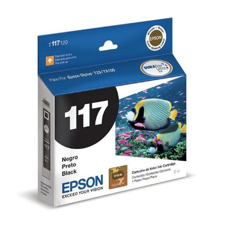 CARTUCHO EPSON 117 PRETO 5ML