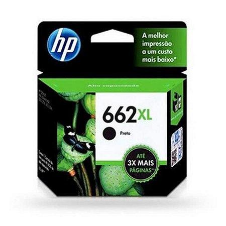 Cartucho HP 662XL Preto 6,5ml
