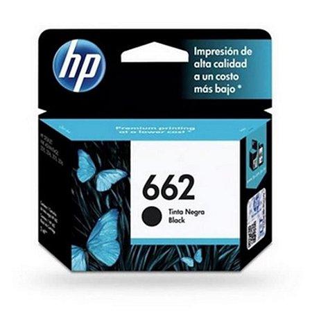 Cartucho HP 662 Preto 2ml