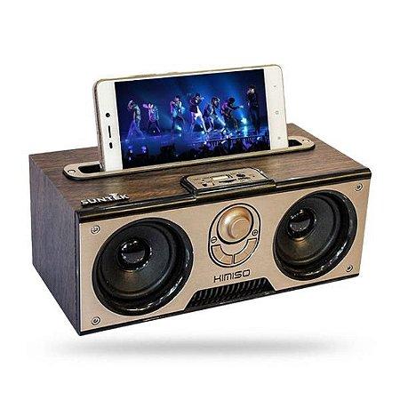 Caixa de Som Bluetooth com Suporte p/ Celular Kimiso KM-7