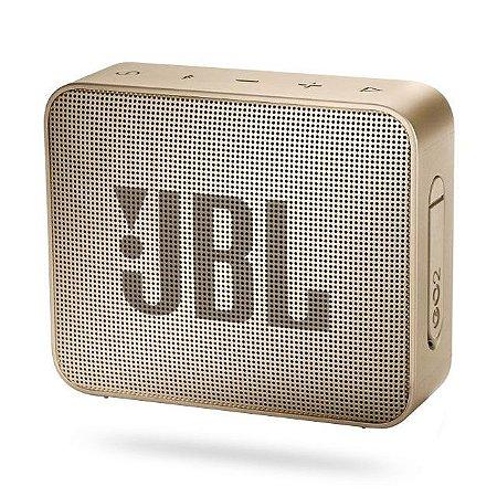 Caixa de Som JBL GO 2 Champagne
