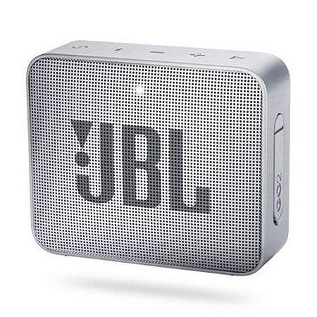 Caixa de Som JBL GO 2 Cinza
