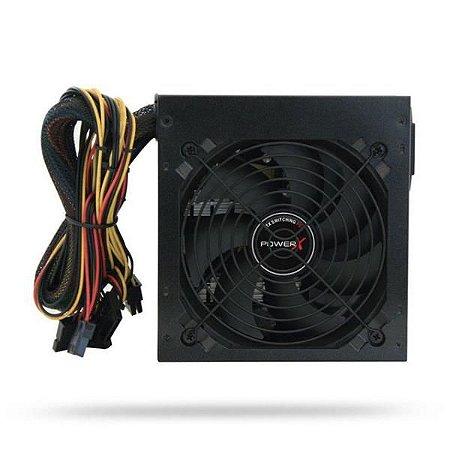 Fonte Alim ATX 500W Reais SATA PX500 Power X