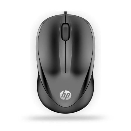 MOUSE OPTICO PRETO USB 100 HP
