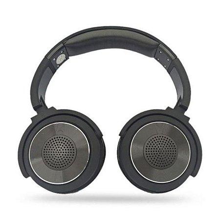 Headset Bluetooth + Alto Falantes Knup KP-436