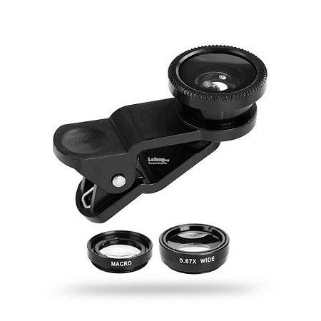 Lente Universal Para Celular Clip Lens