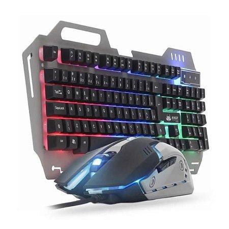 Kit Teclado e Mouse Gamer Knup KP-2054