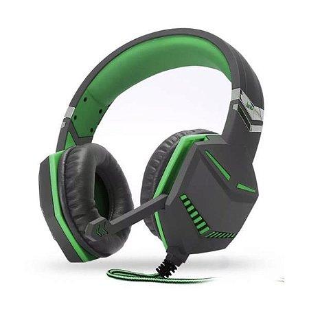 Headset Celular/PS4/Xbox One Knup KP-433 Verde