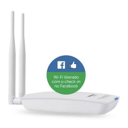 Roteador Wireless Corporativo Intelbras HotSpot 300 Check-In