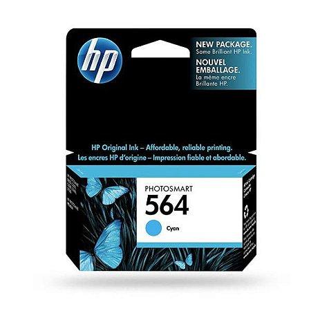 Cartucho HP 564 Ciano
