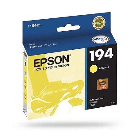 Cartucho EPSON 194 Amarelo