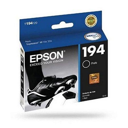 Cartucho EPSON 194 Preto 4ml