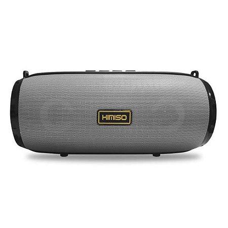 Caixa de Som Bluetooth Cinza KIMISO KM-201