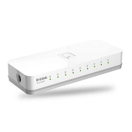 Switch 8 Portas 10/100 Mbps D-LINK DES-1008C