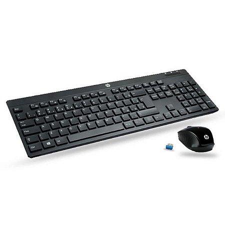Kit Teclado e Mouse HP 200
