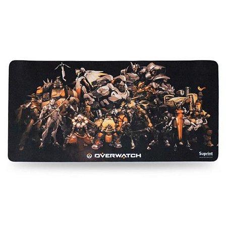 Mouse Pad Gamer Overwatch 320mm x 650mm Suprint Informática